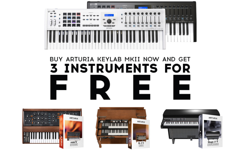 ARTURIA – Art of Keys