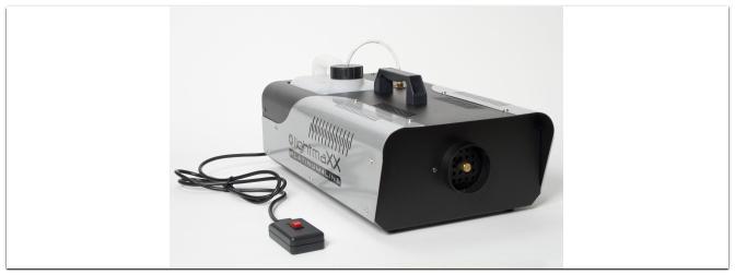 Sortimentserweiterung: ab sofort auch LightmaXX Nebelmaschinen bei uns im Programm!