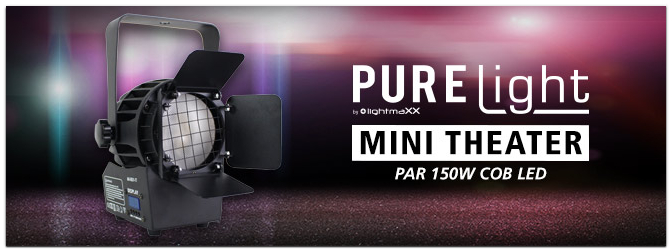 PURElight Mini Theater PAR 150W COB LED