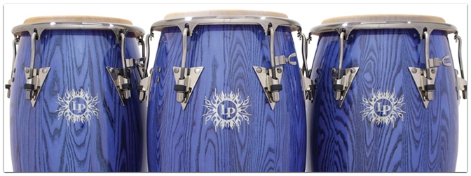 LATIN PERCUSSION 45th Anniversary Drums