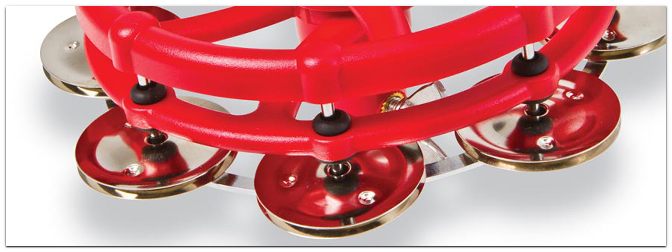 LATIN PERCUSSION Click HiHat Tambourine LP193