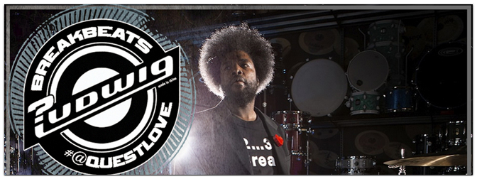"LUDWIG Ahmir ""Questlove"" Thompson Breakbeats Set"