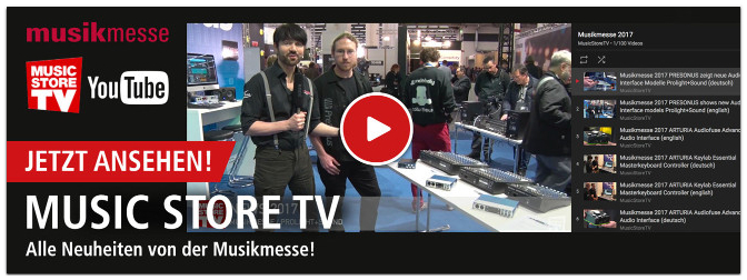 Musikmesse 2017 – Die Neuheiten in 200 Videos !!!