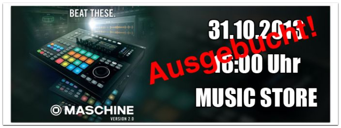 "MASCHINE STUDIO ""Beat These"" Tour 2013 VIDEO"
