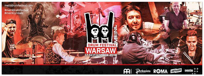 Meinl Drum Festival am 17.09.2016 in Warschau, Polen