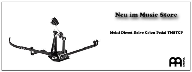 Neu bei uns: Das Meinl Direct Drive Cajon Pedal TMSTCP