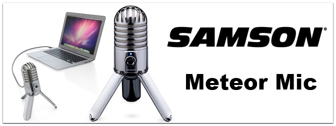 Musikmesse 2011 Frankfurt – Samson Meteor Mic