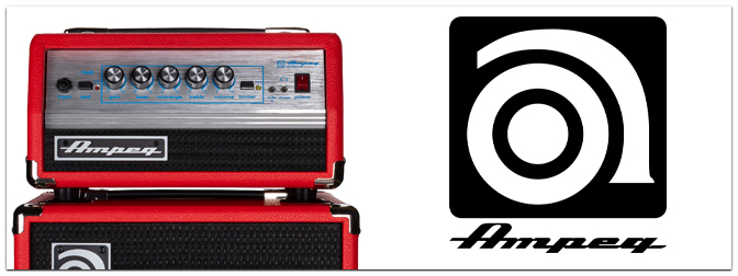Ampeg Micro Stack Special Edition Red – Streng limitiert!
