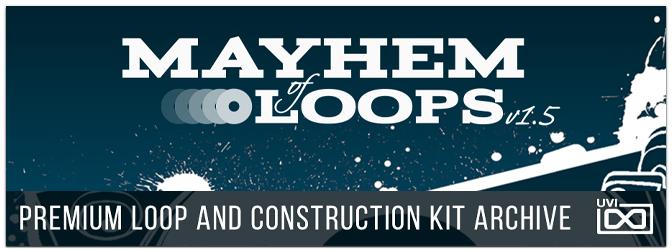 UVI – Mayhem of Loops Version 1.5