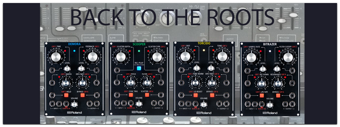 Musikmesse 2015: ROLAND AIRA MODULAR – BACK TO THE ROOTS