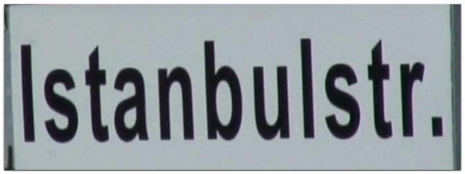 Einweihung der Istanbulstraße