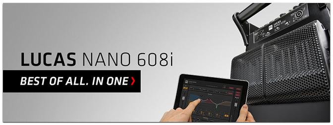 NAMM SHOW 2016 – HK Audio LUCAS NANO 608i portable PA