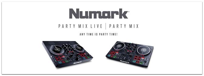 Numark – Party Mix II und Party Mix Live