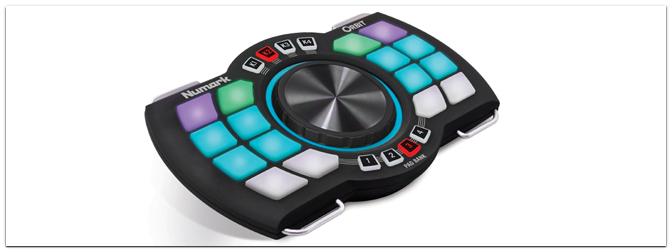 "Musikmesse 2013 – NUMARK präsentiert mobilen DJ-Controller ""ORBIT"""