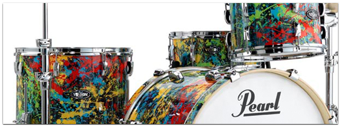 "PEARL VBA Vision Birch Limited ""New York Splatter"" Edition"