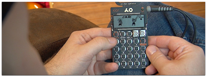 Teenage Engineering PO-33 K.O! Praxis-Test im Music Store