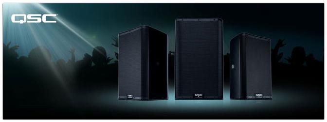 Die neue Aktiv Lautsprecher-Serie von QSC: K.2