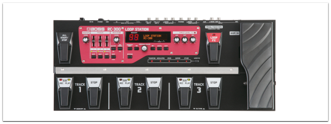 Boss RC-300 – The next Generation of Looping