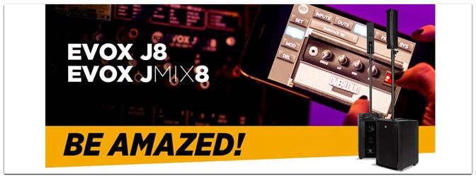 NAMM Show 2018 –  RCF EVOX J8 & EVOX JMIX8