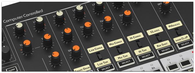 Behringer RD-8 Rhythm Designer – Die Rückkehr der 808