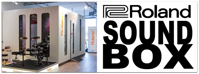 ROLAND Soundbox im Music Store!