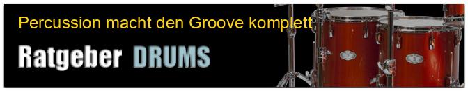 Percussion macht den Groove komplett