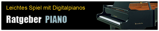Leichtes Spiel mit Digitalpianos