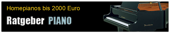 Homepianos bis 2000 Euro