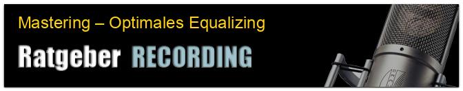 Mastering – Optimales Equalizing