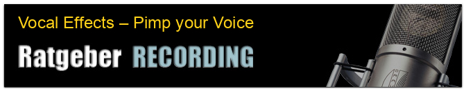 Vocal Effects – Pimp your Voice