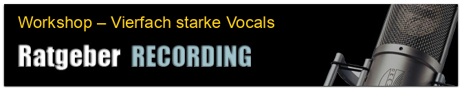 Workshop – Vierfach starke Vocals