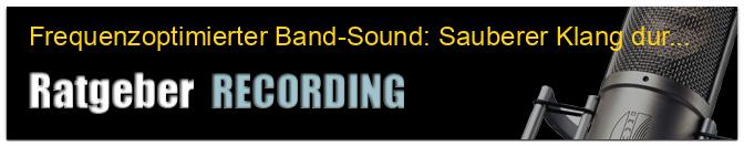Frequenzoptimierter Band-Sound: Sauberer Klang durch Frequenzstaffelung