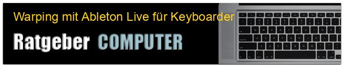 Warping mit Ableton Live für Keyboarder