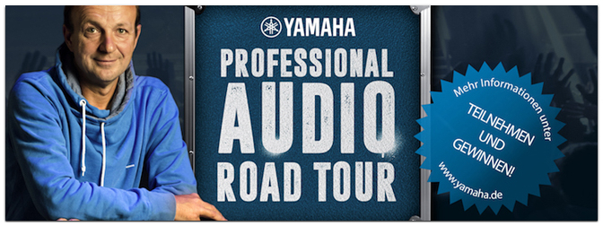 Die YAMAHA Pro Audio ROAD TOUR 2016 / 28. Okt. im MUSIC STORE Köln
