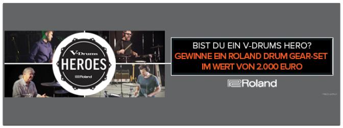 Gewinnspiel: V-Drums Heroes von Roland