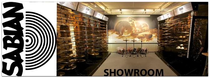 Neuer Sabian Showroom in Marburg