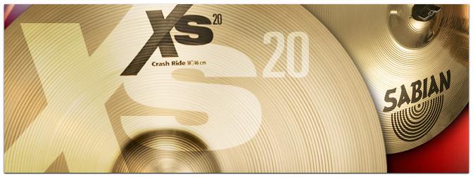 Musikmesse 2014 – SABIAN: neue XS20-Becken