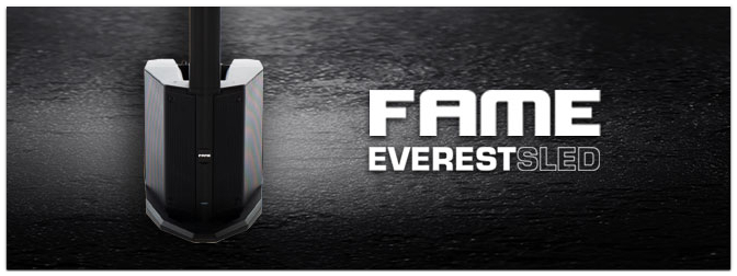 Neuer Zuwachs für Everest Familie – Die Fame Audio Everest SLED