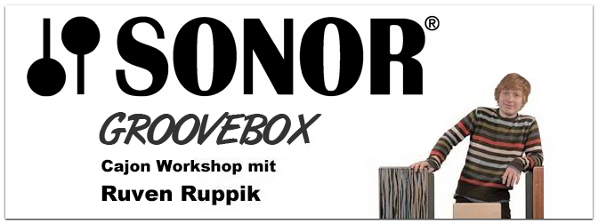 Cajon Workshop mit Ruven Ruppik!
