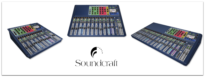 NAMM 2013 – Soundraft Si Expression