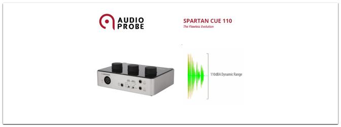 SPARTAN CUE 110 Audiointerface Testbericht