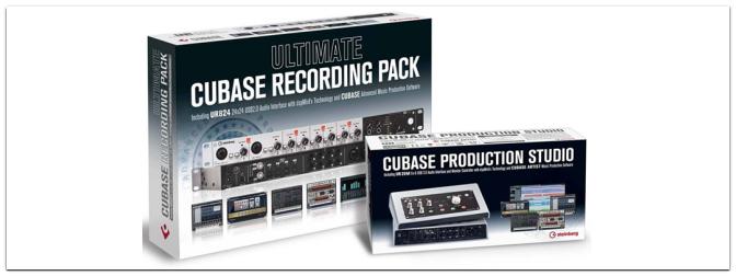 Steinberg Recording Pakete mit bis zu 359 Euro Preisvorteil!