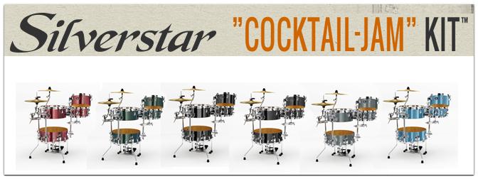 Musikmesse 2014 – Tama Silverstar Cocktail-JAM