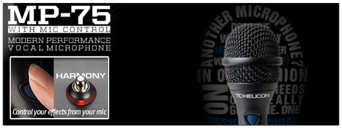 TC-Helicon MP70 / MP 75 Live-Mikrofone