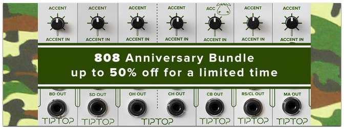 Tiptop Audio 808 Anniversary Bundle
