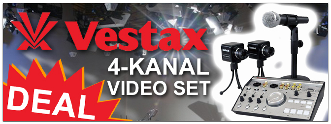 DEAL: Vestax – 4-Kanal Video Set PBS-4