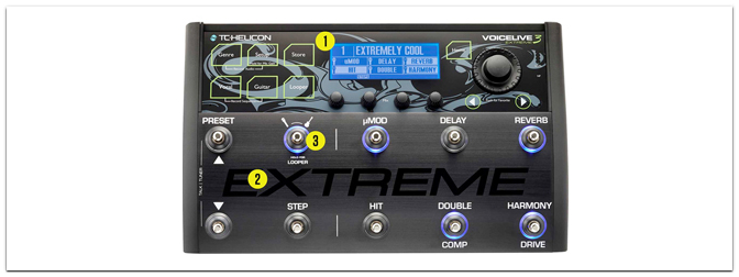 TC Helicon  Voice Live 3 Extreme
