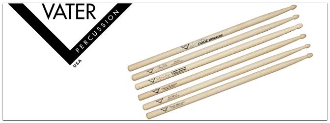 Vater Drumsticks: Ab sofort wieder im Music Store!