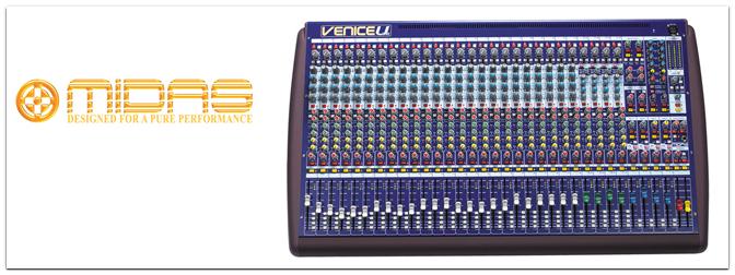 MIDAS Venice U-Serie
