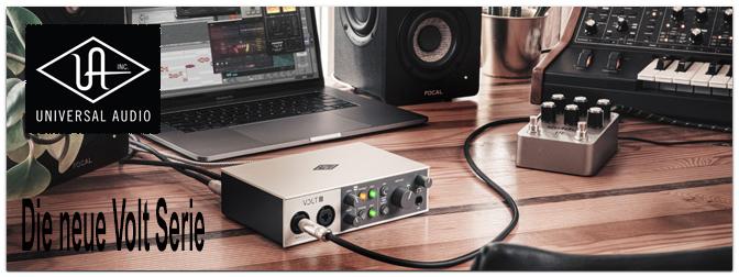BRANDNEU – Die VOLT Serie von Universal Audio